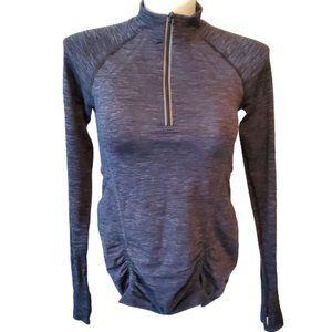 Athleta Fast Track Half Zip Pullover Athletic Top